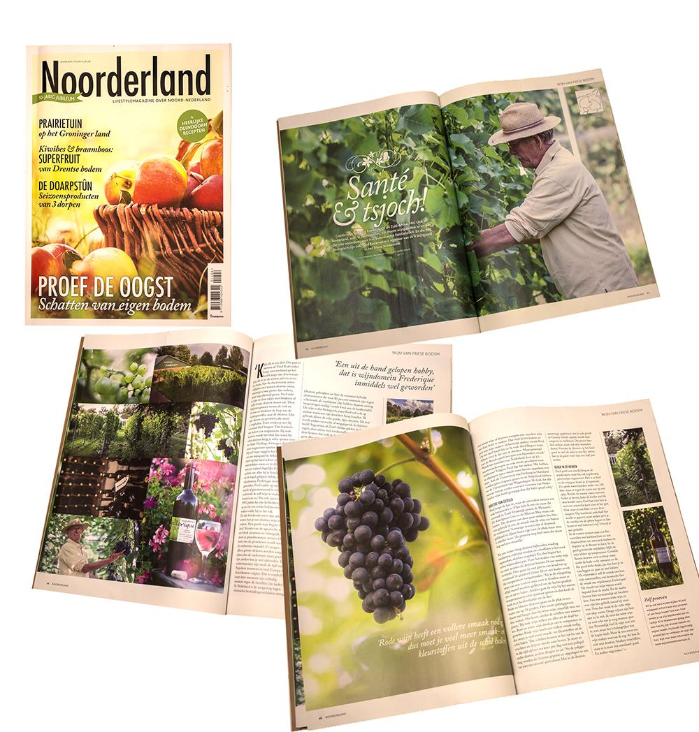 Noorderland reportage wijngaard Frederique.
